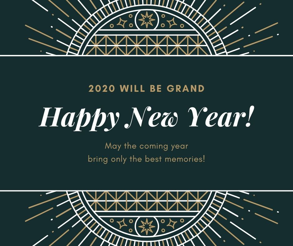 Happy New Year 2020 Poster Download For Free