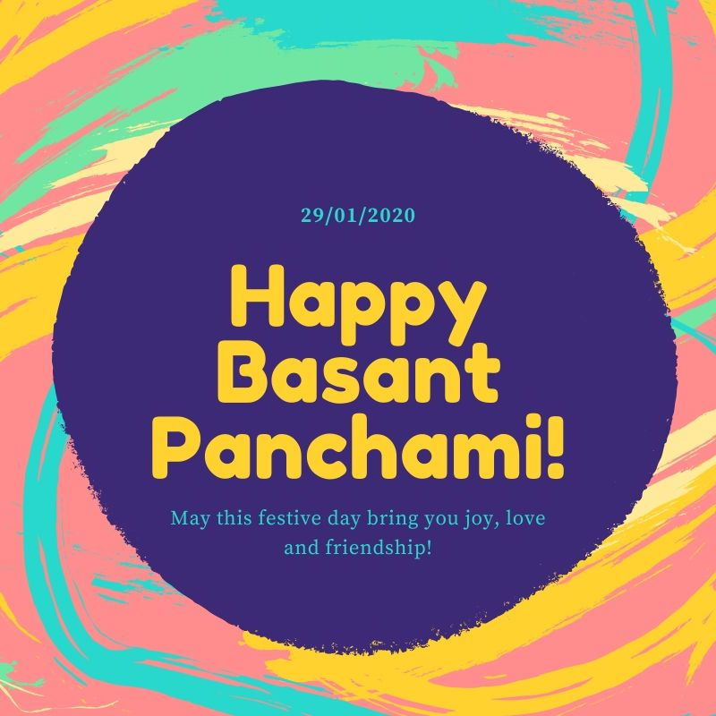 Happy Basant Panchami 2020 Image Download For Free