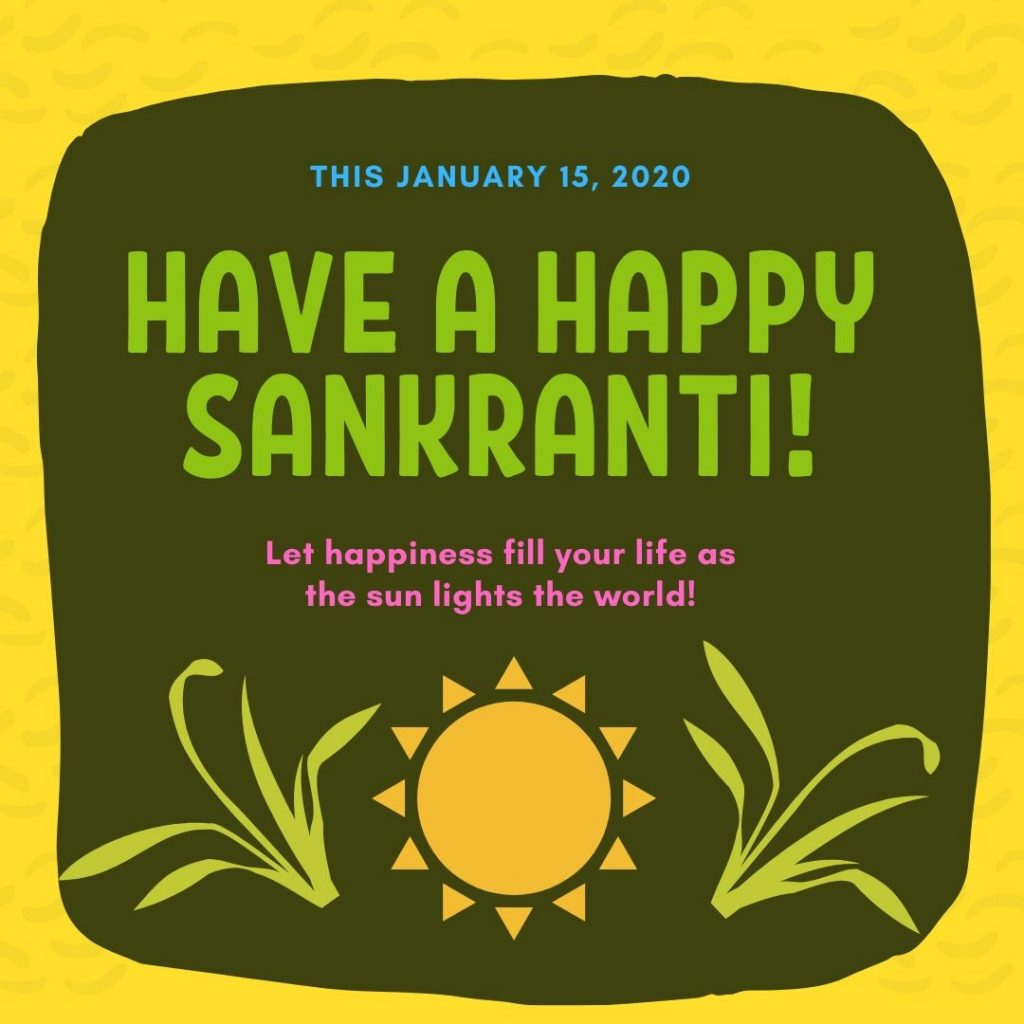 Happy Sankranti 2020 HD Image For Free Download