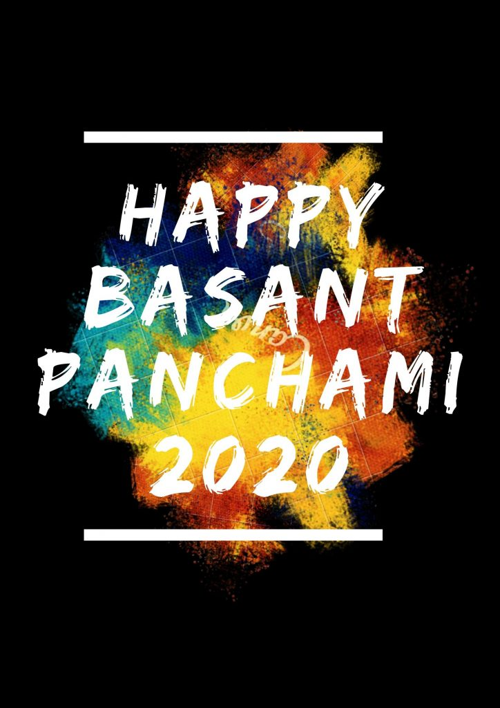 Happy Basant Panchami 2020 Image In HD For Free Download
