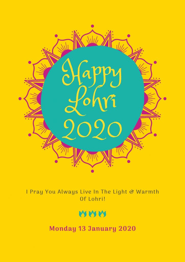 Best Wishes For Lohri 2020 Image Download In HD For Free