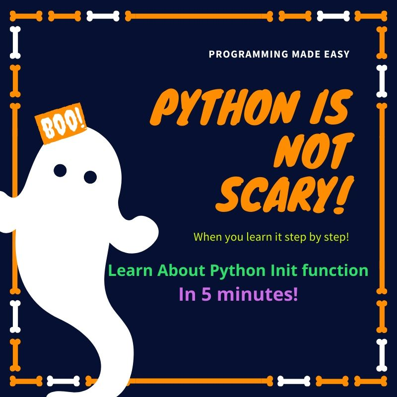 Python Init Function Example and its syntax