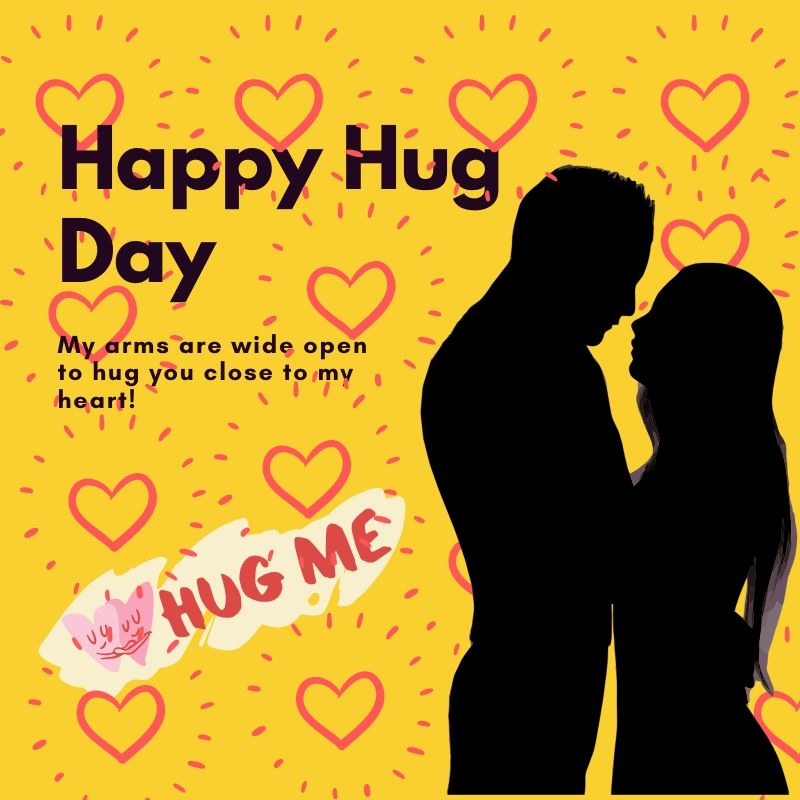 Happy Hug Day 2020 Picture For Free Download