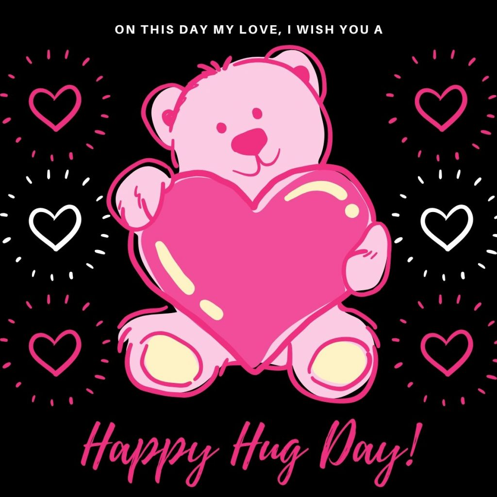 Wish You Happy Hug Day 2020 Image Download For Free
