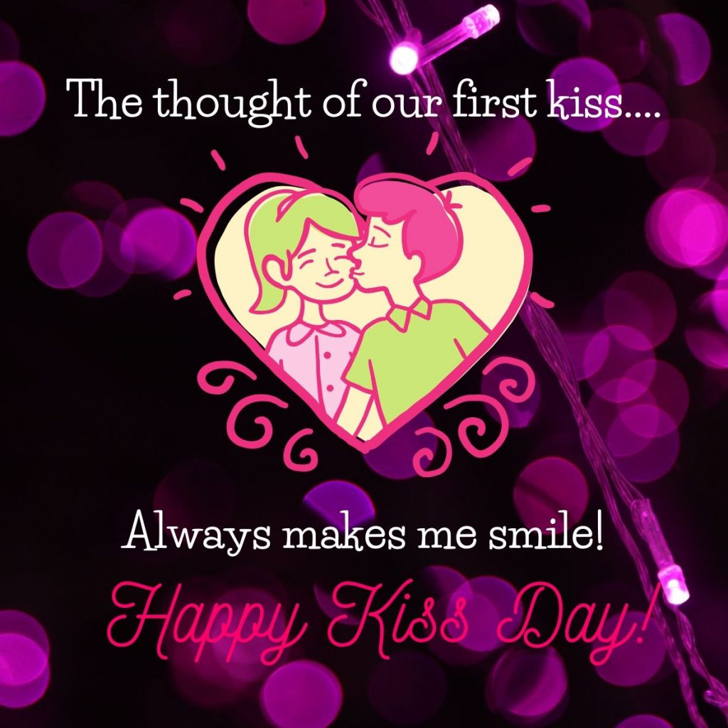 Happy Kiss Day 2020 Image Download In HD For Free