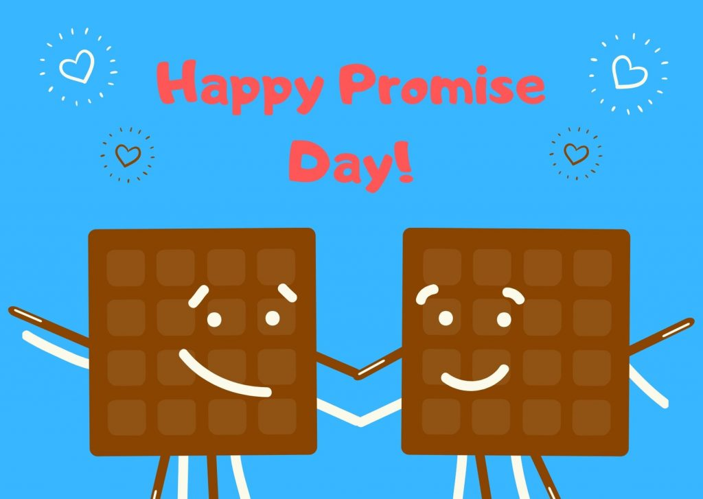 Happy Promise Day 2020 Cartoon Pic For Free Download