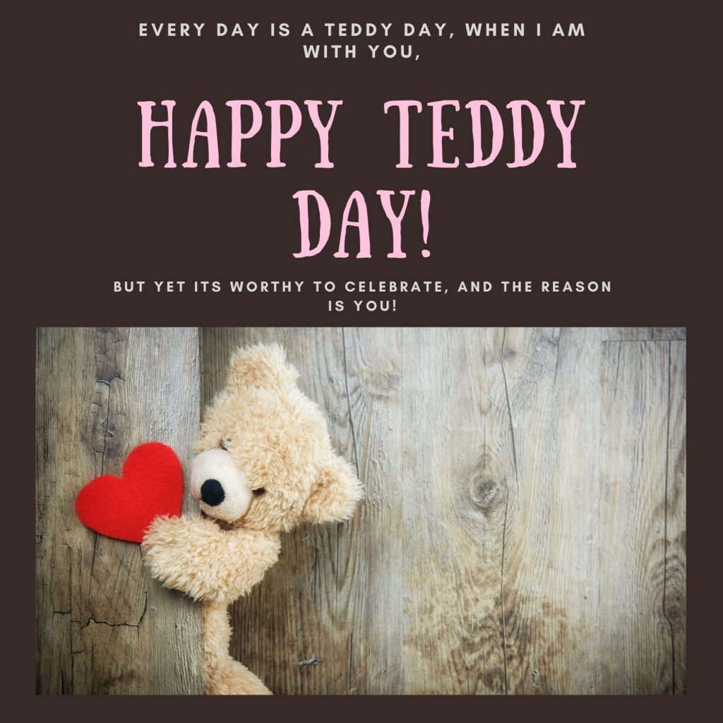 Happy Teddy Day 2020 Image For Free Download