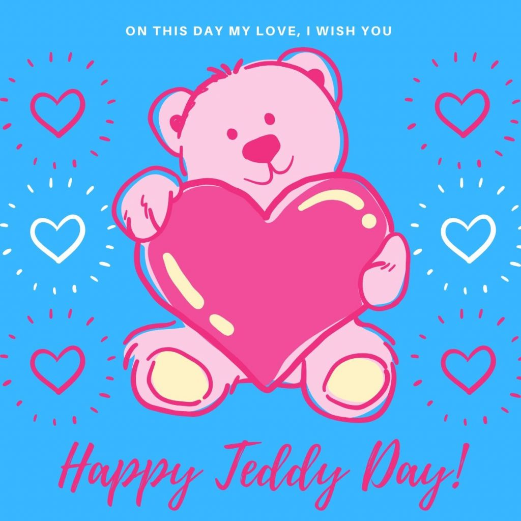Wish You Happy Teddy Day 2020 Image For Free Download