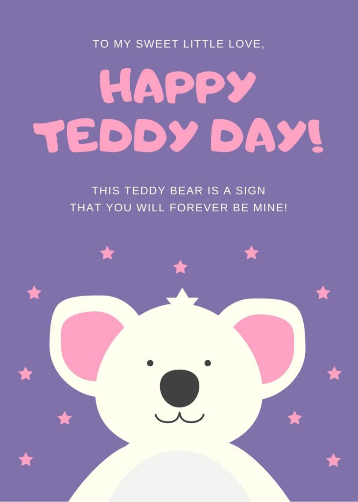 Download Happy Teddy Day 2020 Image For Free