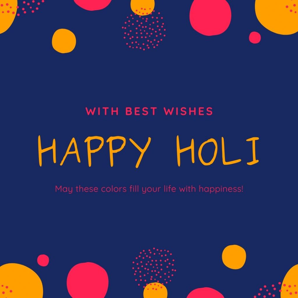 Happy Holi 2020 Best Wishes Pic For Free Download In HD