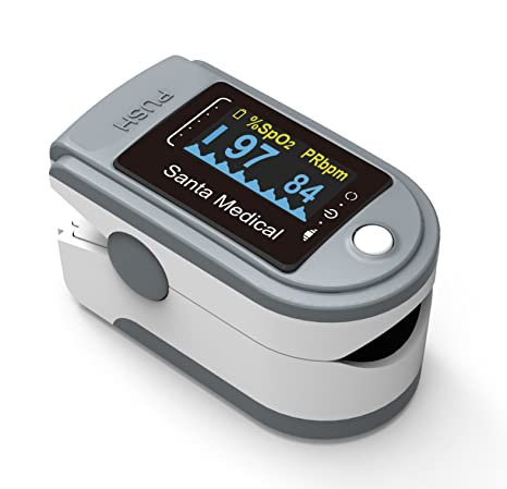 Best Pulse Oximeter of 2020 - Santa Medicals Gen 2 SM-165